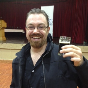 Dennis' first taste of craft beer.....and it was awesome!