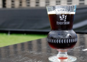 A thistle glass for the snootiest of the snooty Scotch Ale drinkers.